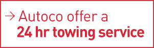 Autoco offer a 24 hour towing service